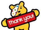 Children in Need 2015 – Thank You