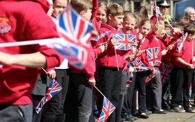Hexham Abbey Royal Visit